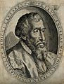 Pietro Andrea Mattioli. Line engraving by (O. D. C. ?). Wellcome V0003908.jpg