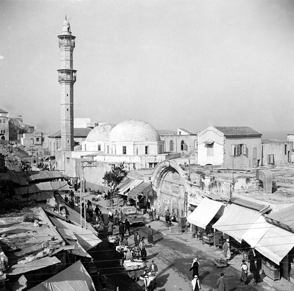 כיכר השעון ביפו - ראשית המאה