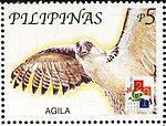 Pithecophaga jefferyi 2001 stamp of the Philippines.jpg