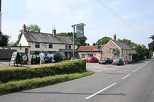 Pitminster - Image: Pitminster, The Blagdon Inn geograph.org.uk 195110
