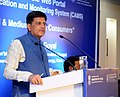 """Piyush Goyal addressing at the launch of the Web portal on """"Coal Allocation & Monitoring System (CAMS) for Small & Medium Sector Consumers"""", in New Delhi.jpg"""