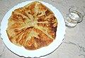 Plăcintă creață cu brânză iute de oaie, Luminișu, Sălaj.JPG