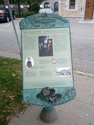 Royal Canadian Mint - Royal Canadian Mint sign.