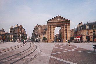 Station Victoire (Tram de Bordeaux) - Place de la Victoire