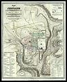 Plan von Jerusalem mit Darstellung aller Wege, welche unser Herr Jesus Christus waehrend Seiner Leidenstage zurueckgelet.jpg