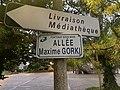 Plaque allée Maxime Gorki Fontenay Bois 2.jpg