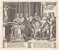 Plate 4- Psyche's father consulting the Oracle, accompanied by another king, from the Story of Cupid and Psyche as told by Apuleius MET DP862810.jpg