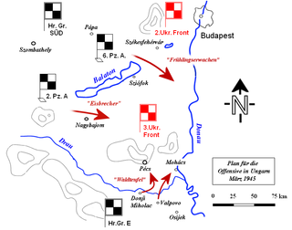 Operation Spring Awakening The last major German offensive on the Eastern Front of World War II