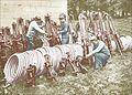 Plombiers au travail à l'arrière du front de l'ouest en 1915.jpg