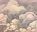 Plum blossom thatched house by Jeon gi.jpg
