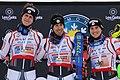 Podium du championnat de France de slalom 2021 - ski alpin.jpg