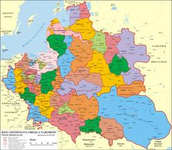 Områder i Den polsk-litauiske realunion