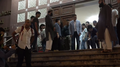 Police staff after the meeting in Kowloon Mosque and Islamic Centre 20191020.png