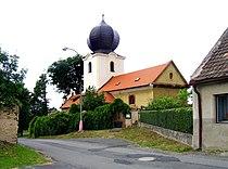 Popovičky, Svatý Bartoloměj church.jpg