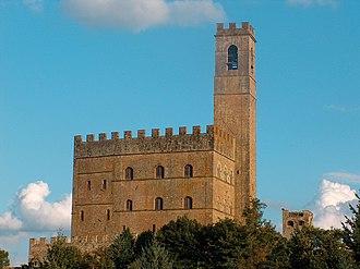 Poppi - The castle of Poppi.