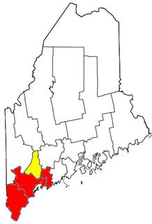 Portland metropolitan area, Maine human settlement in United States of America