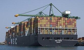 Port of Sines - Image: Portof Sines TCS