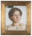 Porträtt av Bodil Faber (konstnären Viggo Johansens dotter) (Richard Bergh) - Nationalmuseum - 178062.tif