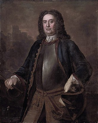 Stephen Slaughter - Portrait of Major General Richard St George, 1744, by Stephen Slaughter