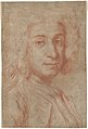 Portrait of a Man (recto); A Male Torso in Jacket and the Head of a Child (verso) MET DP103056.jpg