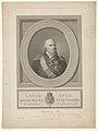 Portret van koning Lodewijk XVIII Louis XVIII. Roi de France et de Navarre (titel op object), RP-P-1999-898.jpg