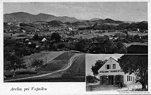 Arclin - Postcard of Arclin