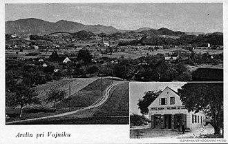 Arclin - Postcard of Arclin