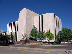 Potter County District Courts Building in downtown Amarillo