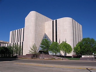 Potter County, Texas - Image: Potter County District Courts Building Amarillo Texas USA