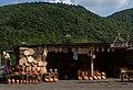 Pottery shop by roadside in Imereti, Georgia.jpg