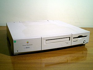 Power Macintosh - The Power Macintosh 6100/66, a version of the first Macintosh to use a PowerPC processor.