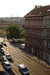 Praha, Žižkov, provoz v Koněvově ulici.jpg