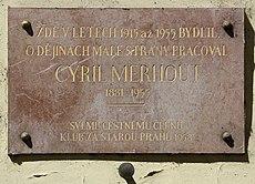 Praha, Malá Strana - Vlašská (Cyril Merhout).jpg