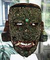 Pre-Columbian collection, Dumbarton Oaks, inlaid mask.JPG