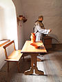 Predjama Castle - chaplain's room..jpg