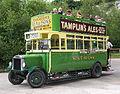 Preserved Southdown bus 125 (CD 5125) 1920 Leyland N Type Short Brothers (1928 rebody), Amberley Museum, 27 July 2004.jpg