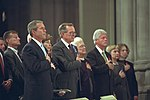 President George W. Bush at the National Cathedral in 2001.jpg