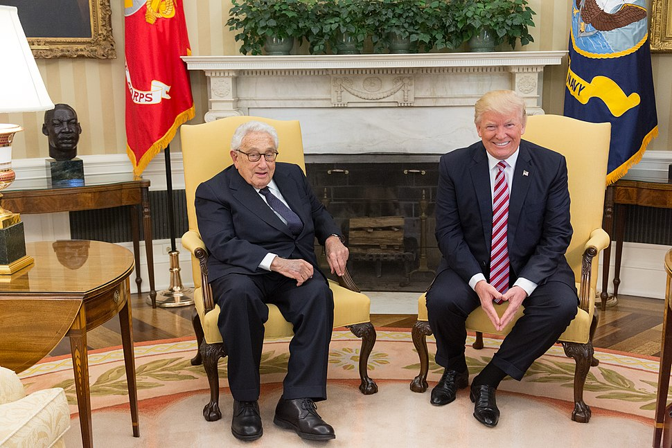 President Trump Meets with Henry Kissinger (33787724293)