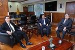 Presidente Eleito, Jair Bolsonaro visita Ministro da Defesa (45703216772).jpg