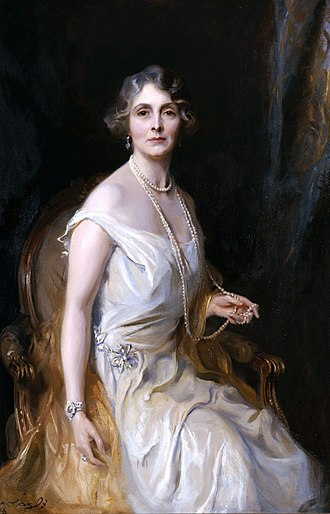 Princess Alice, Countess of Athlone - Portrait by Philip de László, c. 1929