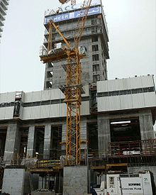 Princess Tower Under Construction on 1 February 2008.jpg
