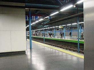 Príncipe Pío (Madrid Metro) - Lines 6 and 10 platforms, Príncipe Pío
