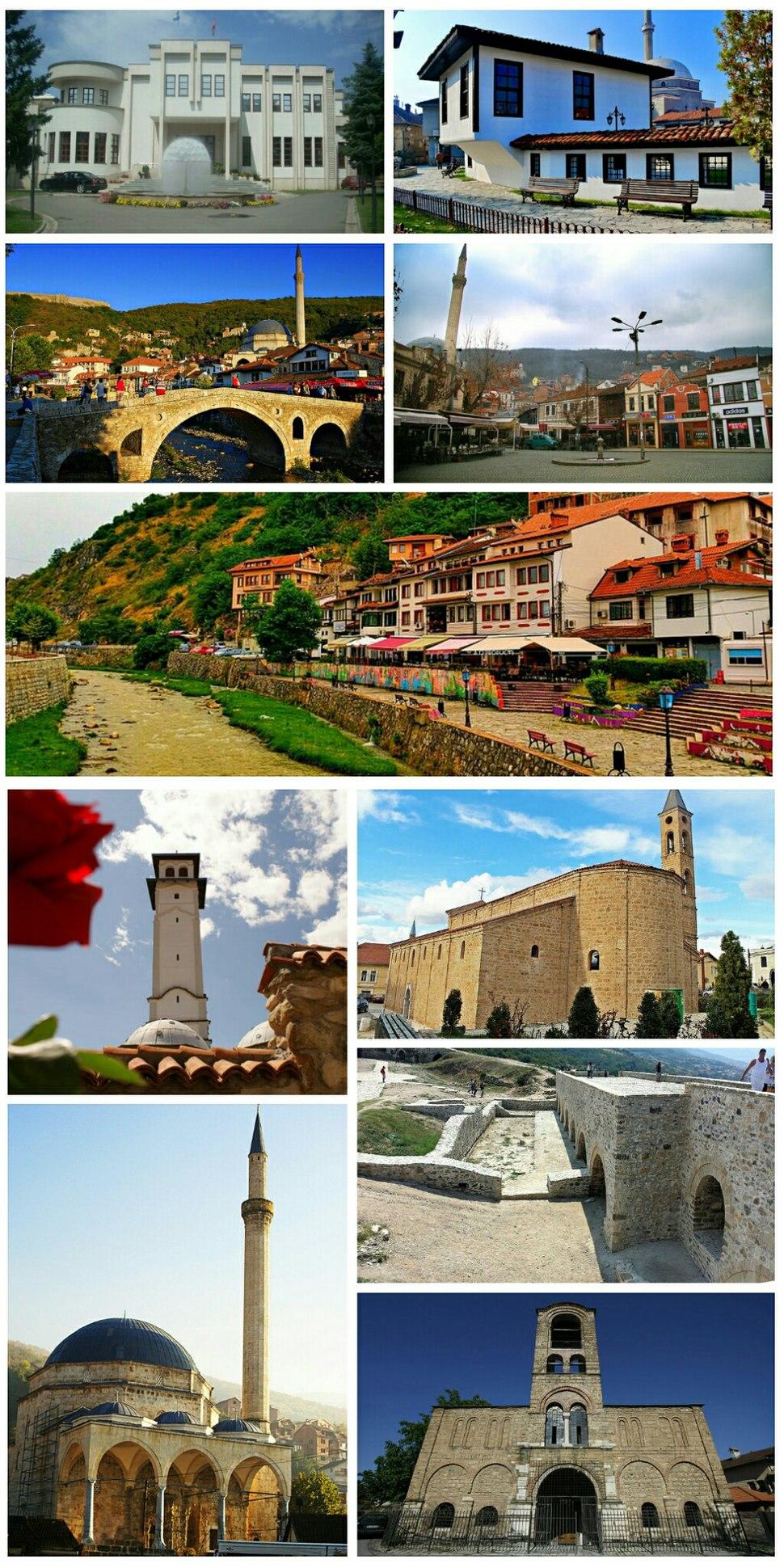 Prizren collage