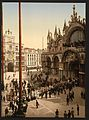 Procession in front of St. Mark's, Venice, Italy-LCCN2001701012.jpg