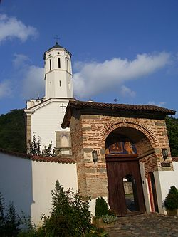 Prohor Pčinjski, entrance gate, 2009.jpg