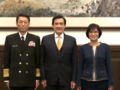 Promotion of Lee Hsi-ming to Admiral 李喜明晉任海軍上將 (20150130 總統主持國軍重要幹部晉任布達授階典禮).png