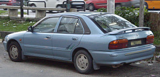 Proton Wira - Aeroback (pre-facelift)