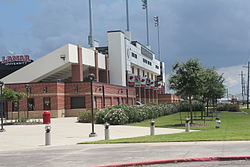 Provost Umphrey Stadium – outside the stadium