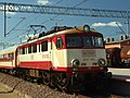Pszczółki, nádraží, lokomotiva II.JPG