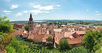 Ptuj Castle - Image: Ptuj panorama 01